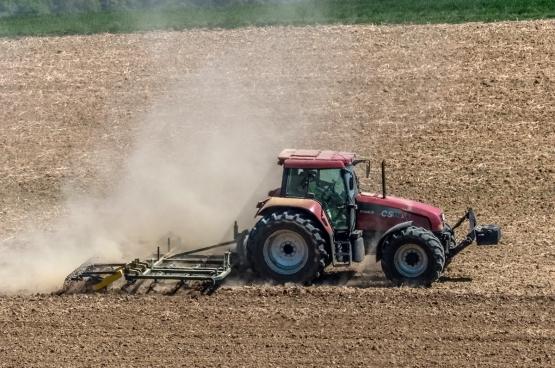 Avec la sécheresse, les agriculteurs risquent de perdre une grande partie de leurs récoltes... (Photo Karl G. Vock, Flickr)