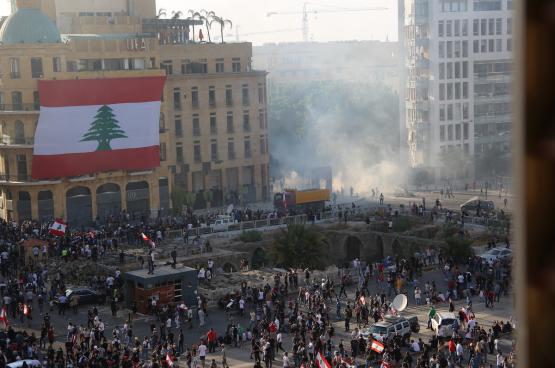 Depuis la double explosion survenue le 4 août à Beyrouth, le peuple libanais reprend la rue et a forcé le gouvernement à la démission. (Photo Shutterstock)