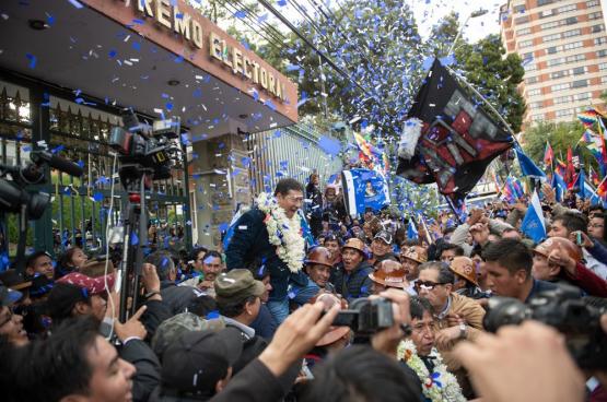 Luis Arce, le candidat du « Mouvement vers le socialisme » (MAS) d'Evo Morales a remporté l'élection présidentielle avec un score phénoménal. (Photo Shutterstock)