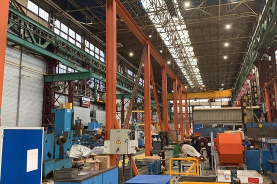 Fermeture de General Electric en Belgique : des travailleurs à la porte, mais de l'argent public dans la poche des actionnaires ? (Photo Bruno Stas)