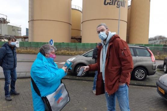 Après quatre jours de grève, presque toutes les demandes des travailleurs de Cargill ont été satisfaites... (Photo IUF)