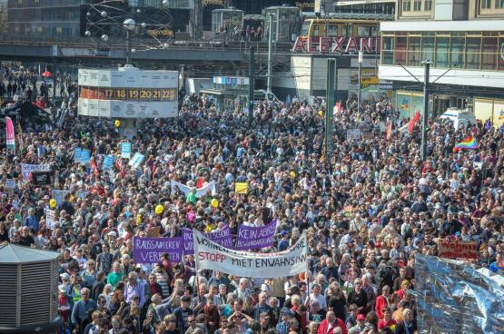 Manifestation géante à Berlin contre les « requins de la location » le 6 avril 2019. (Photo Umbruch Bildarchiv)