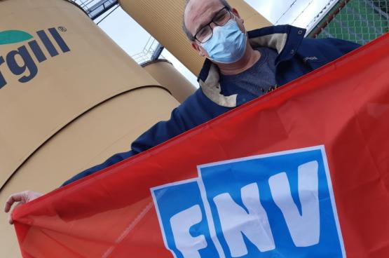 Avec la pandémie, les travailleurs de Cargill ont trouvé des formes originales pour mener leur lutte et décrocher une victoire. (Photos DR)